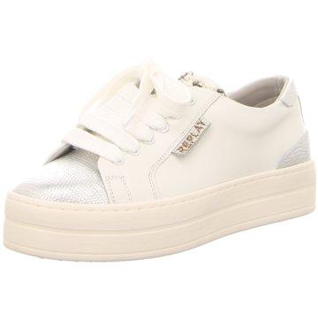 Replay Modische Sneaker weiß
