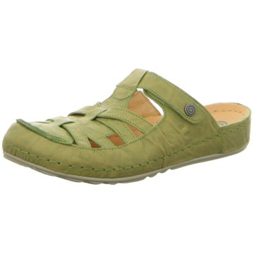 Dr. Brinkmann Komfort Pantolette grün