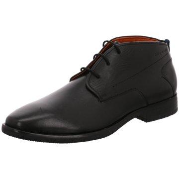 Bugatti Schnürstiefelette schwarz