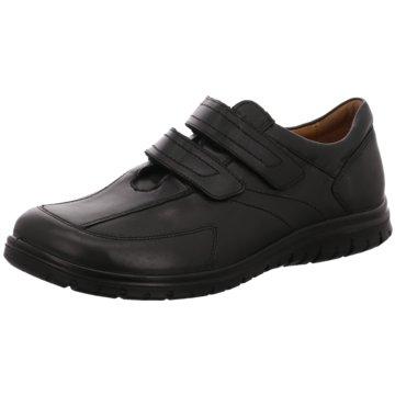 Jomos Komfort Slipper schwarz