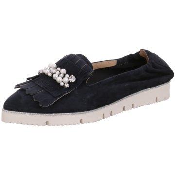 Alpe Woman Shoes Faltbarer Ballerina blau
