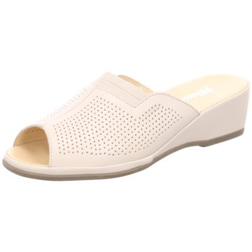 Manz-Fortuna Komfort Pantolette beige