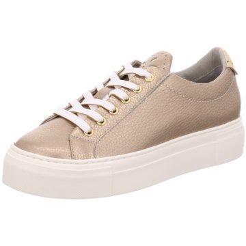 Maripé Modische Sneaker gold