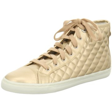 Geox Sneaker High gold