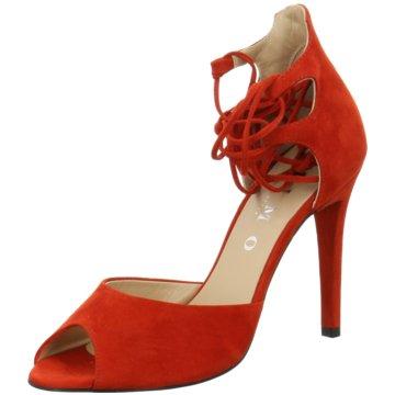 Moda di Fausto Sandalette rot
