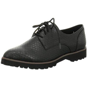 La Strada Modische Schnürschuhe schwarz