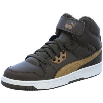 Puma Sneaker High braun