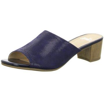 Caprice Klassische Pantolette blau