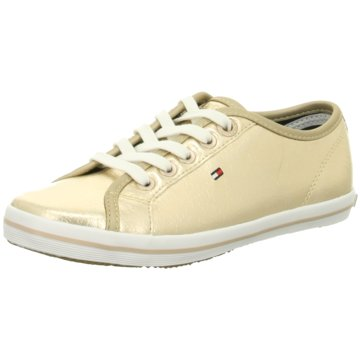 Tommy Hilfiger Sneaker Low gold