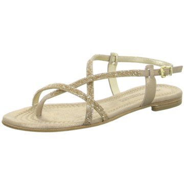 Kennel + Schmenger Modische Sandaletten gold