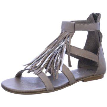 MACA Modische Sandaletten grau