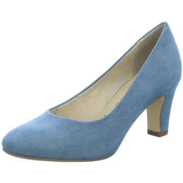 Tamaris Klassischer Pumps blau