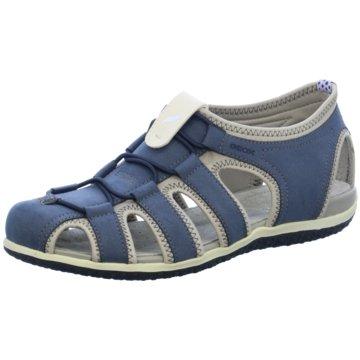 Geox Komfort Sandale blau