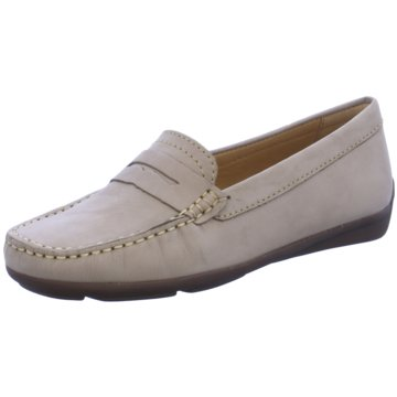 Wirth Mokassin Slipper beige