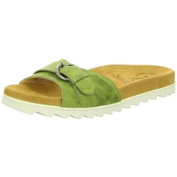 Think Klassische Pantolette grün