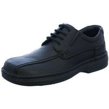 ara Komfort Schnürschuh schwarz