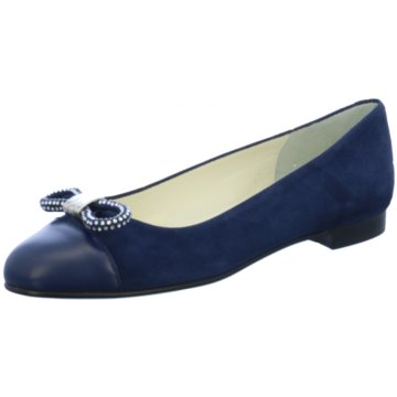 Blubella Eleganter Ballerina blau