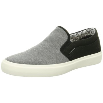 Jack & Jones Sportlicher Slipper grau