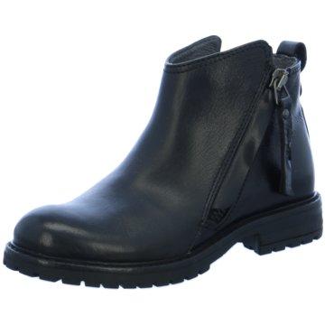 Momino Halbhoher Stiefel schwarz