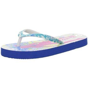 Fashy Offene Schuhe blau