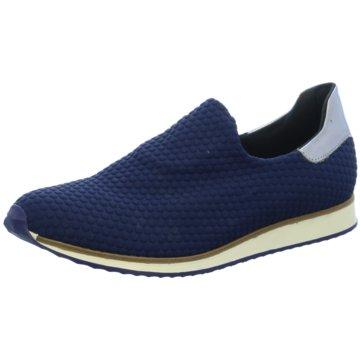 Lamica Sportlicher Slipper blau