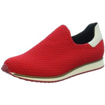 Lamica Sportlicher Slipper rot