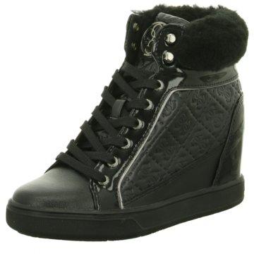 Guess Modische Sneaker schwarz