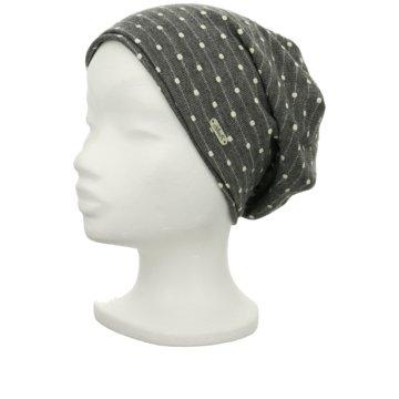 Chocolate Negro Mütze Damen grau
