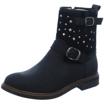 Lepi Halbhoher Stiefel schwarz