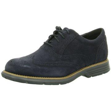 Rockport Eleganter Schnürschuh blau