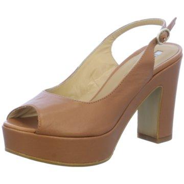 Donna Piu Modische High Heels braun