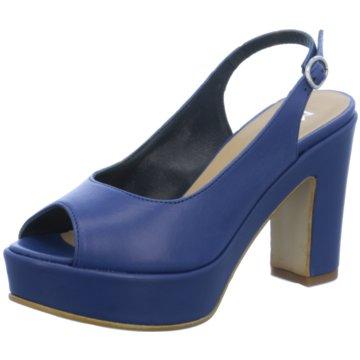 Donna Piu Modische High Heels blau