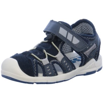 ASSO Offene Schuhe blau