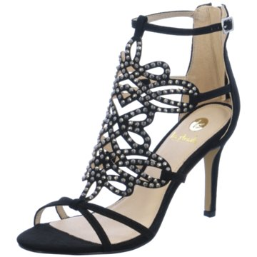 La Strada Modische High Heels schwarz