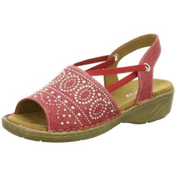 Jenny Komfort Sandale rot