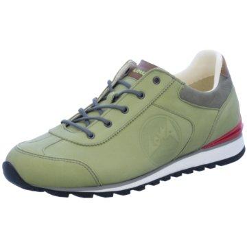 LOWA Sneaker Low grün