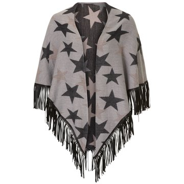 Cartoon Poncho grau