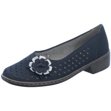 Jenny Komfort Slipper blau