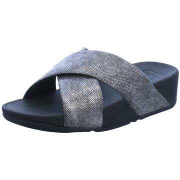 Fit Flop Klassische Pantolette grau