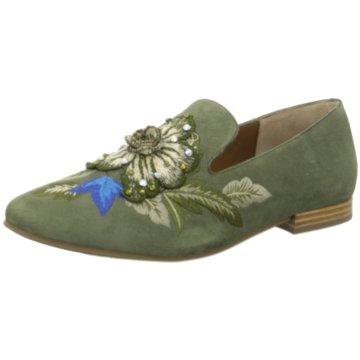 Pedro Miralles Klassischer Slipper grün