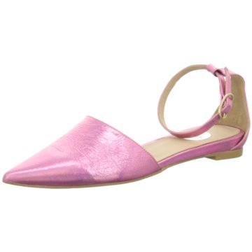 RAS Klassischer Ballerina pink