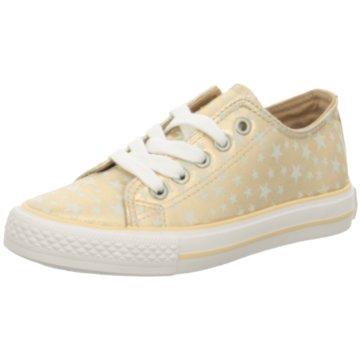 Indigo Sneaker Low gelb