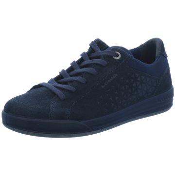 LOWA Sneaker Low blau