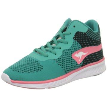 KangaROOS Sneaker High grün