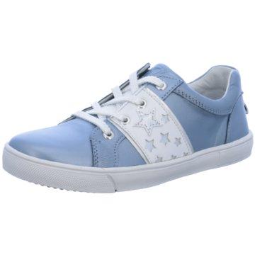 Zebra Sneaker Low blau