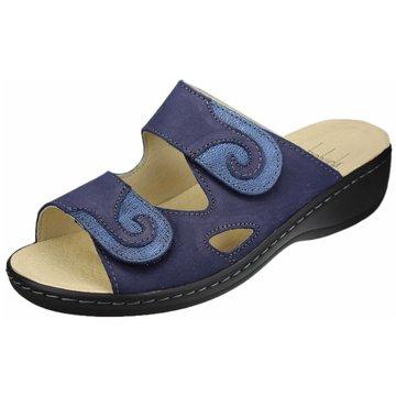 Portina Komfort Pantolette blau