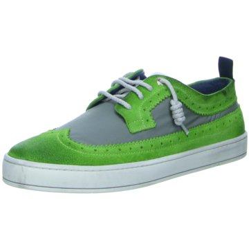 Nobrand Sneaker Low grün