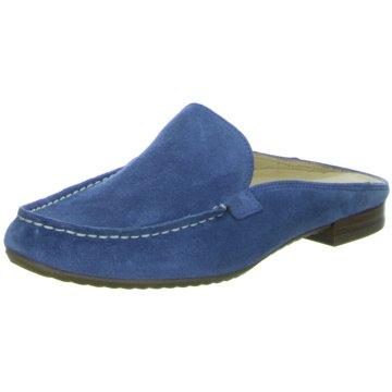 Paul Green Klassische Pantolette blau