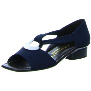 Brunate Komfort Sandale blau