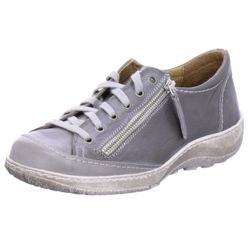 Dessy Komfort Schnürschuh grau